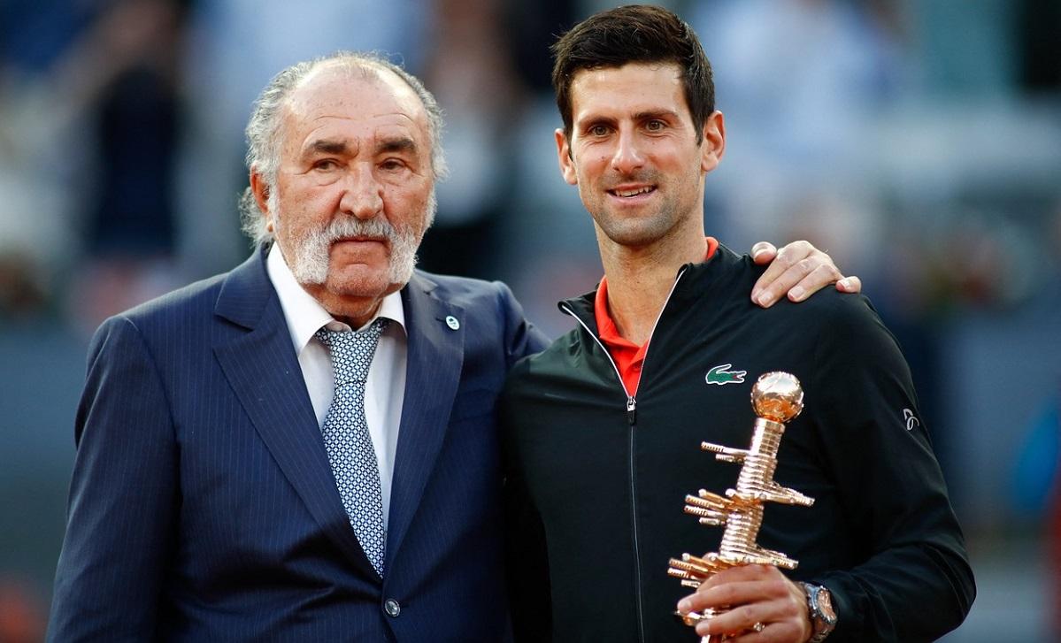 Ion Ţiriac, Novak Djokovic, Madrid Open