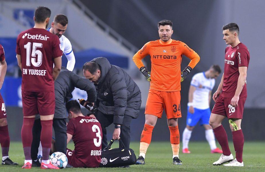 CFR Cluj, încă un caz de Covid-19! Edi Iordănescu, obligat să joace cu al treilea portar