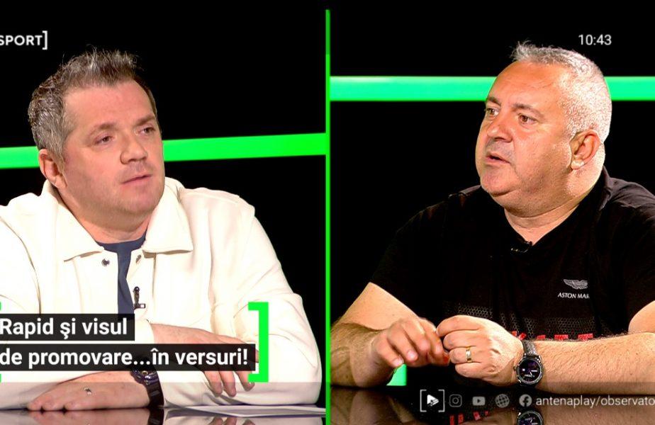 """EXCLUSIV AS.ro LIVE   Rapid și visul unei promovări… în versuri! """"Eram precum în """"Contele de Monte Cristo""""!"""" Mihai Iosif, despre lupta pentru Liga 1"""
