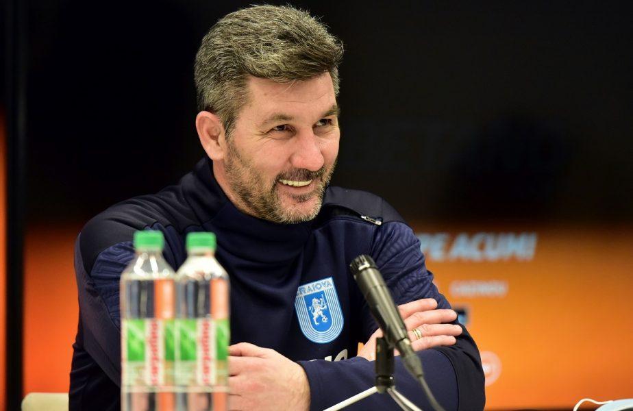 """Universitatea Craiova – FCSB   Marinos Ouzounidis îşi avertizează rivalii: """"Putem juca mai bine decât în meciul cu CFR Cluj!"""""""