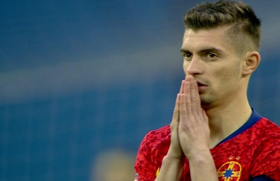 Universitatea Craiova – FCSB | Gigi Becali e mândru de căpitanul său! Florin Tănase s-a rugat pe teren înaintea derby-ului