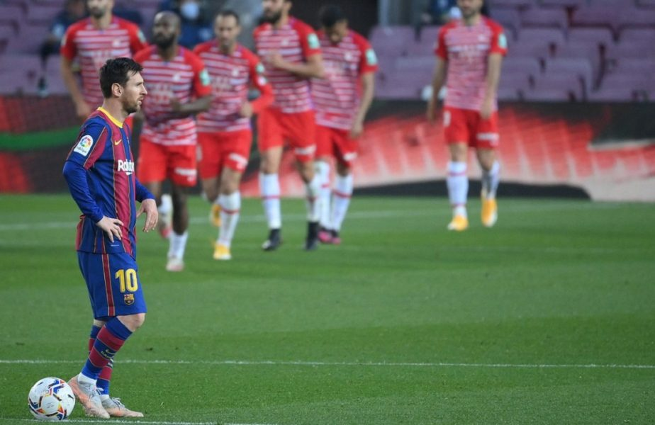 Barcelona – Granada 1-2. Golul lui Lionel Messi n-a fost de ajuns! Catalanii au ratat șansa să urce pe primul loc