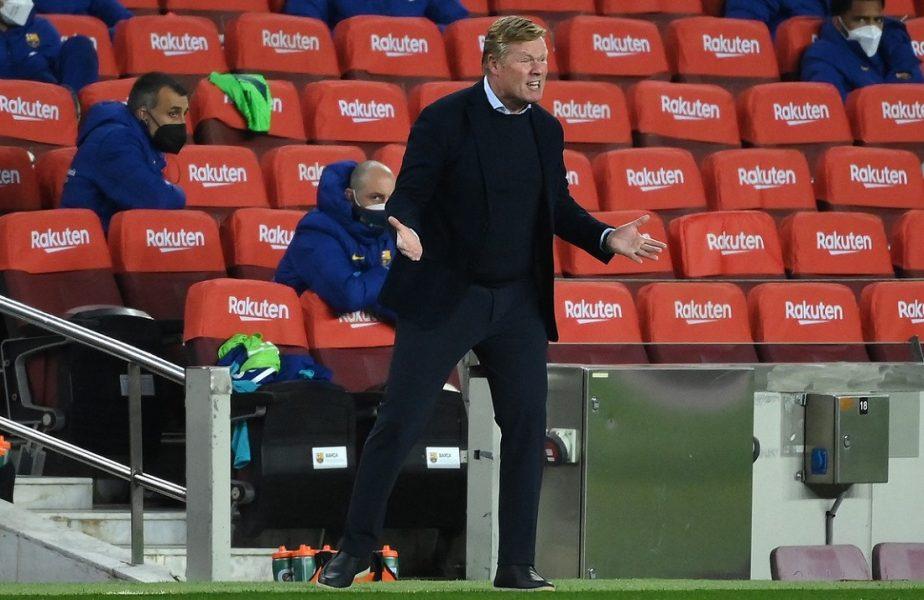 """Barcelona – Granada 1-2   Ronald Koeman a fost eliminat şi a făcut scandal: """"Nu înţeleg absolut deloc!"""" Olandezul ar putea sta în tribune la debry-ul cu Atletico"""