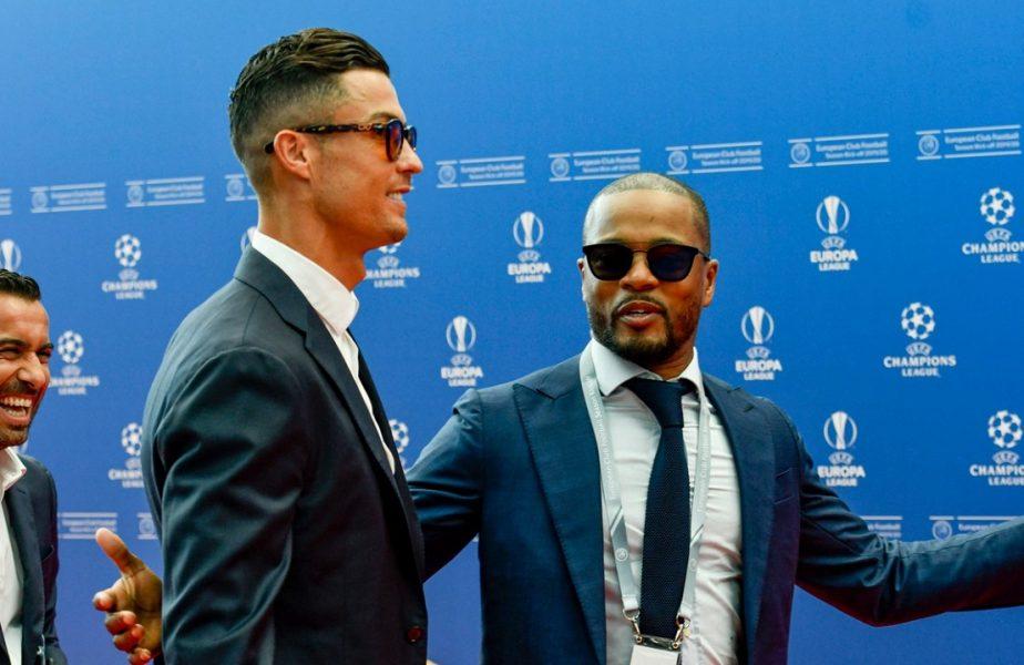 Cristiano Ronaldo, Patrcice Evra