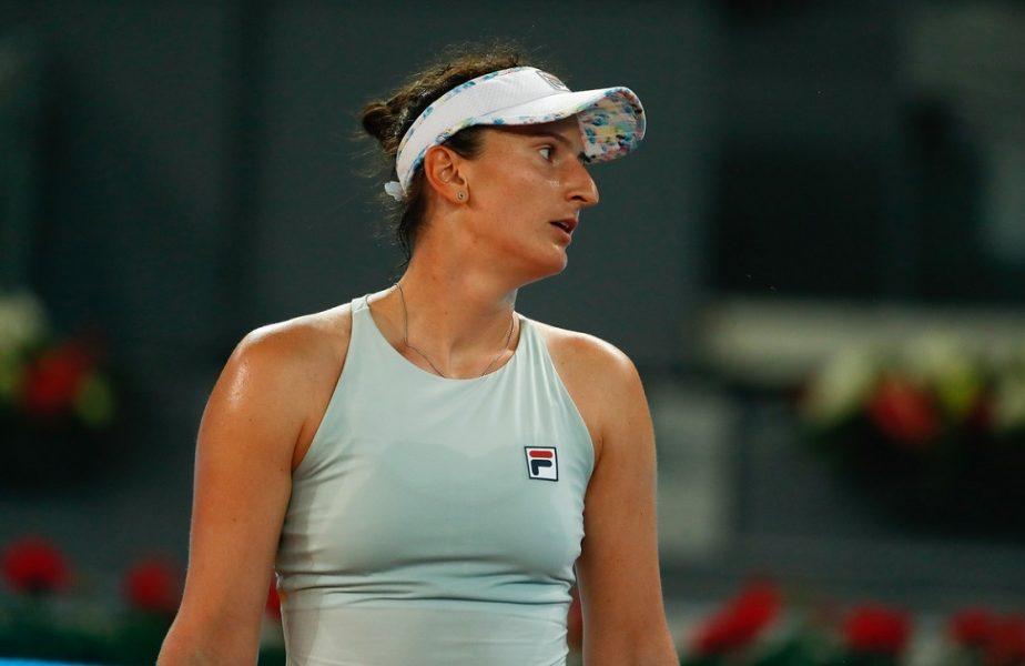 Madrid Open 2021 | Irina Begu, eliminată după o luptă uimitoare! Românca a salvat 7 mingi de meci contra lui Daria Kasatkina