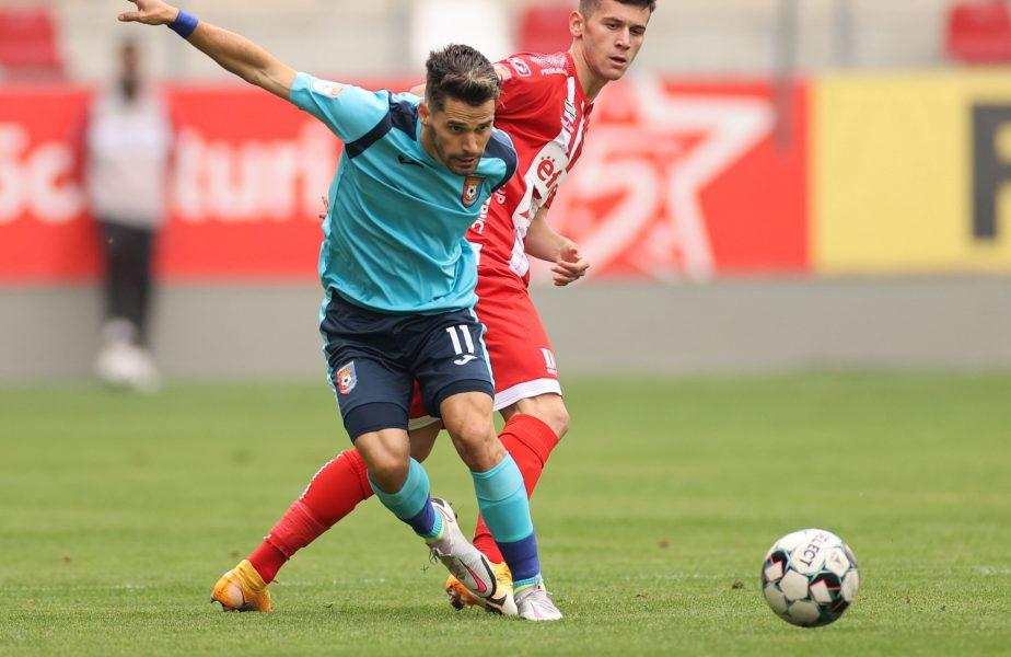 UTA – Chindia Târgovişte 0-1. Nebunie de gol la Arad! Paul Iacob a adus victoria cu o execuție de vis. Oaspeţii, parcurs perfect în play-out