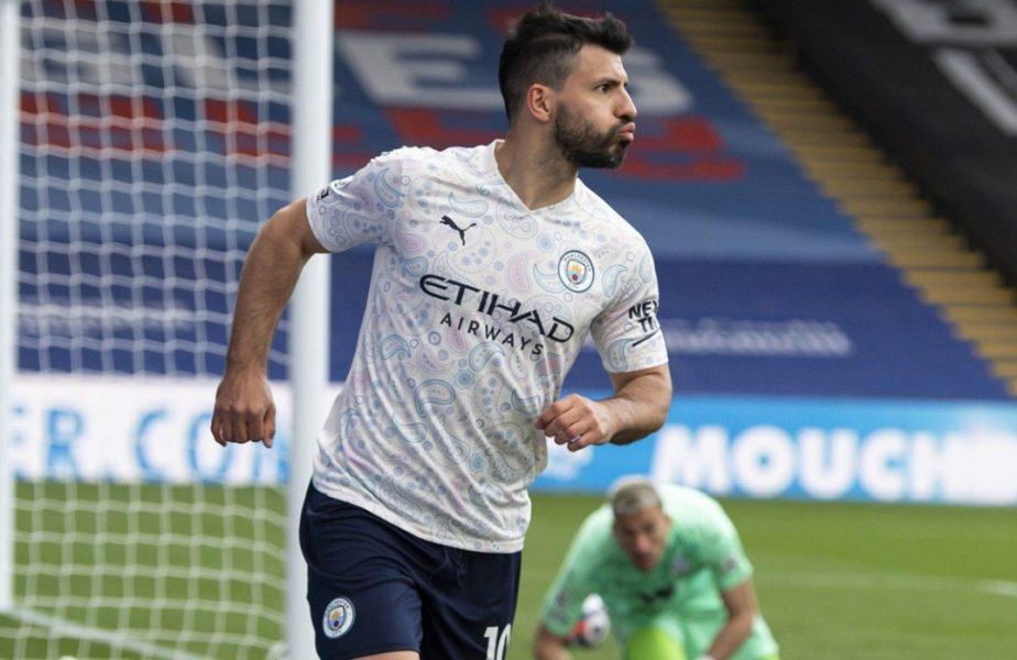 VIDEO | Sergio Aguero, gol nebun în Crystal Palace – Manchester City 0-2! Echipa lui Guardiola e la un pas de titlu