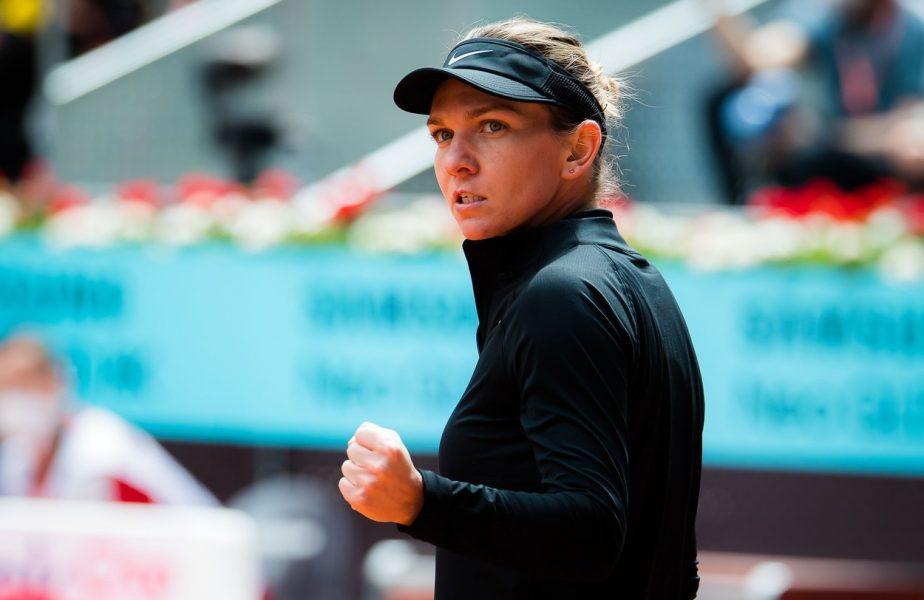 Simona Halep – Saisai Zheng 6-0, 6-4   Simo, a doua victorie la Madrid Open 2021. Românca s-a calificat în optimi fără set pierdut