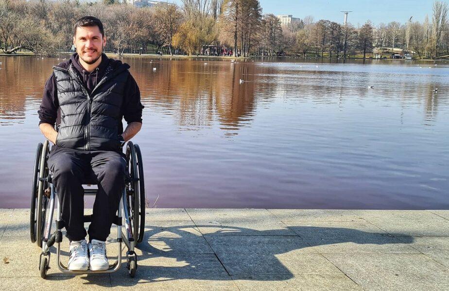 """""""Cel mai bun lucru care mi se putea întâmpla"""". George Baltă a rămas paralizat pe terenul de rugby, dar face declaraţii uimitoare: """"Mi-a deschis capul, sufletul şi ochii"""""""