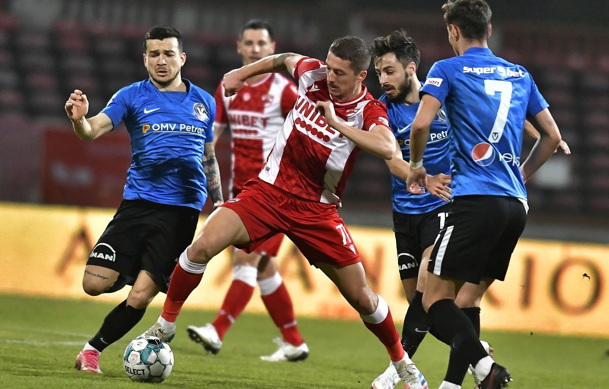 Viitorul, Dinamo, Liga 1