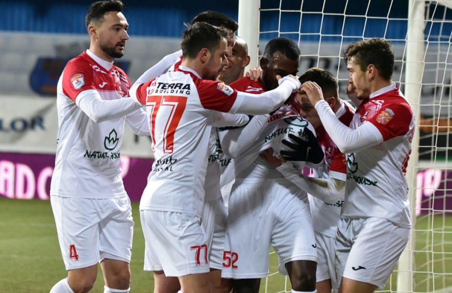FC Voluntari – Hermannstadt 0-1. Gol în stilul lui Zlatan Ibrahimovic reușit de Belu-Iordache. Dinamo, înapoi pe loc retrogradabil