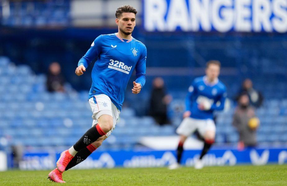 """""""Ianis Hagi, la ultimul derby Rangers – Celtic"""". Anunţul făcut în Scoţia. Doi coloşi sunt pe urmele mijlocaşului român"""