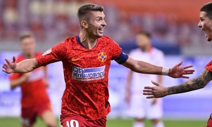FCSB – CFR Cluj   Florin Tănase, sezonul carierei! Borna fantastică atinsă de căpitanul roş-albaştrilor. I-a depăşit pe Claudiu Răducanu şi Raul Rusescu!