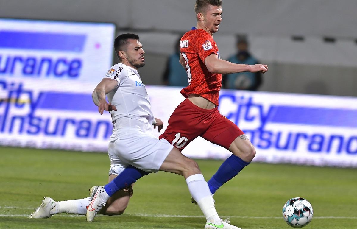 Andrei Burcă, fault la Florin Tănase
