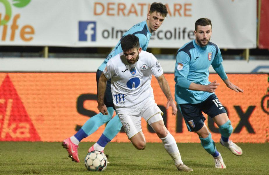 Chindia Târgovişte – Gaz Metan 1-1. Echipa lui Emil Săndoi a ratat victoria după o gafă incredibilă a lui Aioani!