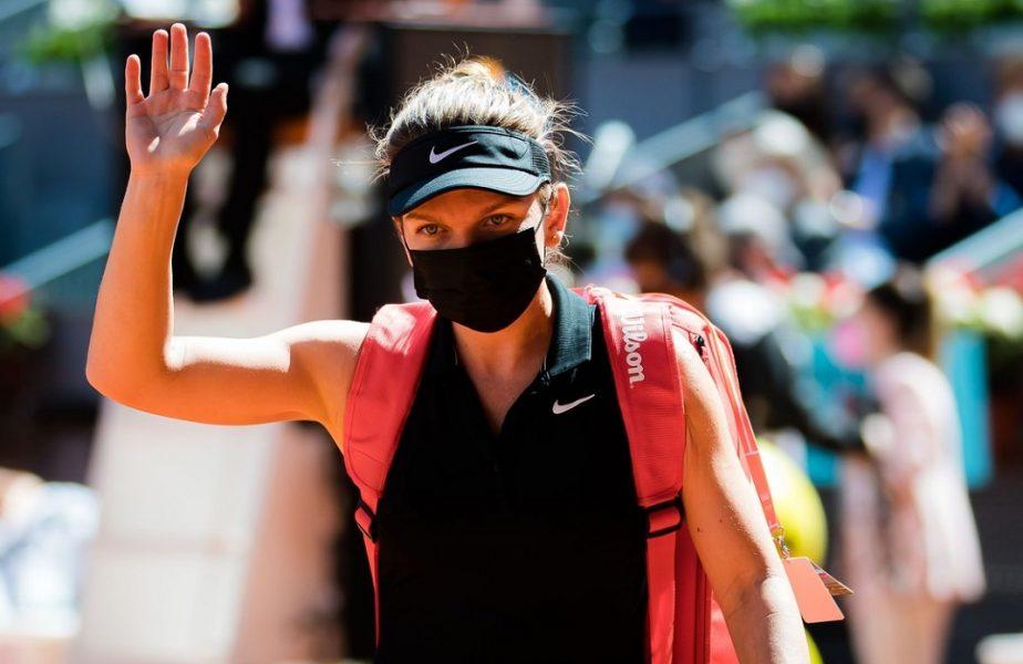 """Simona Halep, prima reacţie după ce a fost eliminată de Elise Mertens de la Madrid Open 2021. """"Nu aş spune că am jucat prost"""". Ce a spus despre prezenţa la turneul de la Roma"""