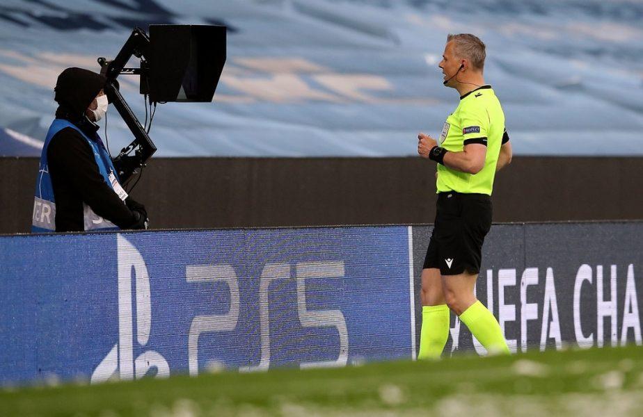 Manchester City – PSG | Starurile lui Guardiola, salvate de VAR! Bjorn Kuipers a fost aproape să facă o gafă de proporţii