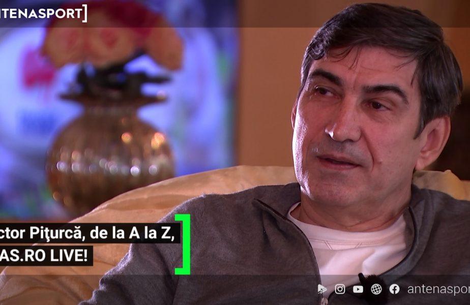 """EXCLUSIV AS.ro LIVE   Victor Pițurcă, genial când a fost întrebat dacă a văzut vreun jucător care să-i semene: """"Este un tip foarte dur, are fizicul meu!"""""""