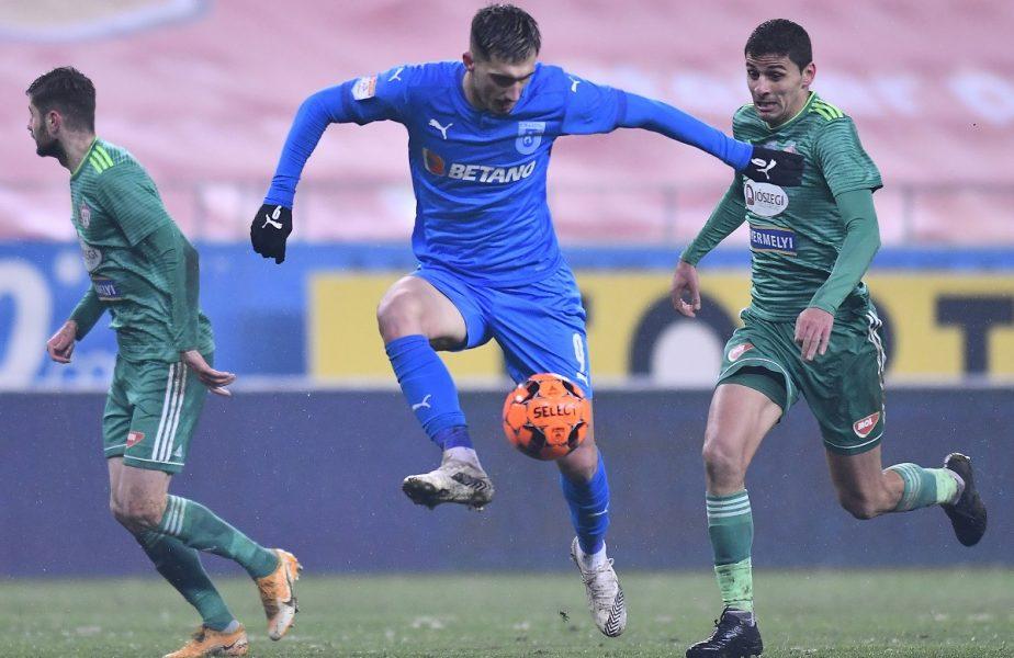 Sepsi – Universitatea Craiova 2-0. Coşmarul continuă pentru olteni! Alb-albaştrii au ajuns la a doua înfrângere consecutivă în play-off, iar titlul e tot mai departe