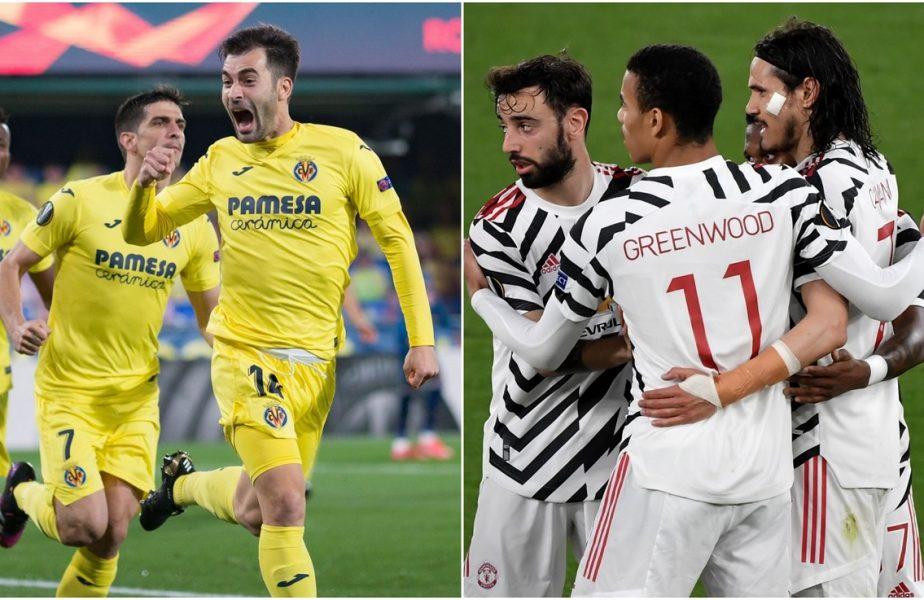 """Manchester United – Villarreal, finala Europa League 2021! """"Diavolii"""" se vor lupta din nou pentru trofeu. Spaniolii, calificare istorică în ultimul act al competiţiei"""