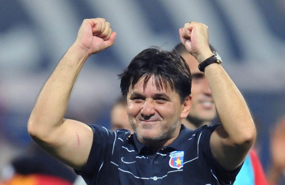 Marius Lăcătuş, la finalul unui meci