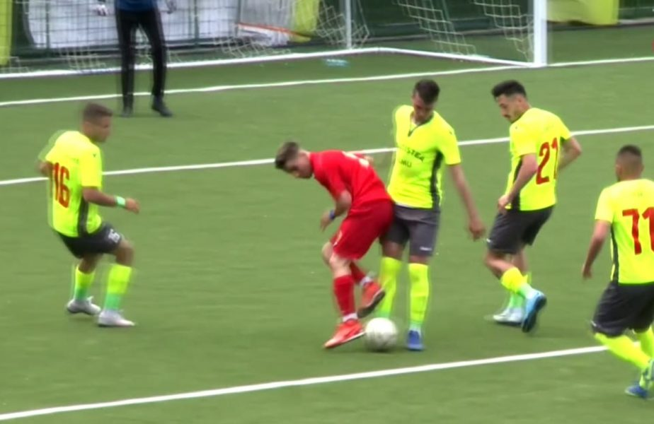 """Mostiştea Ulmu – CSA Steaua 0-2   """"Militarii"""", cu un pas în finala barajului de promovare. Echipa lui Opriţa a primit un penalty ireal"""