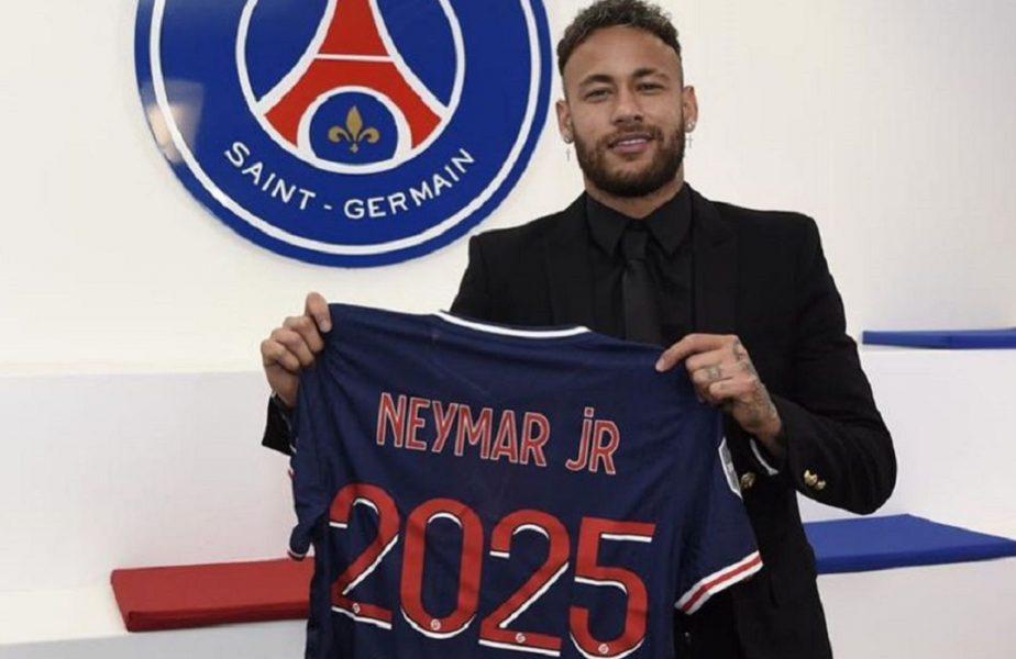 """Neymar, mândru după ce și-a prelungit contractul cu PSG: """"Istoria continuă!"""" Incredibil ce salariu va avea"""