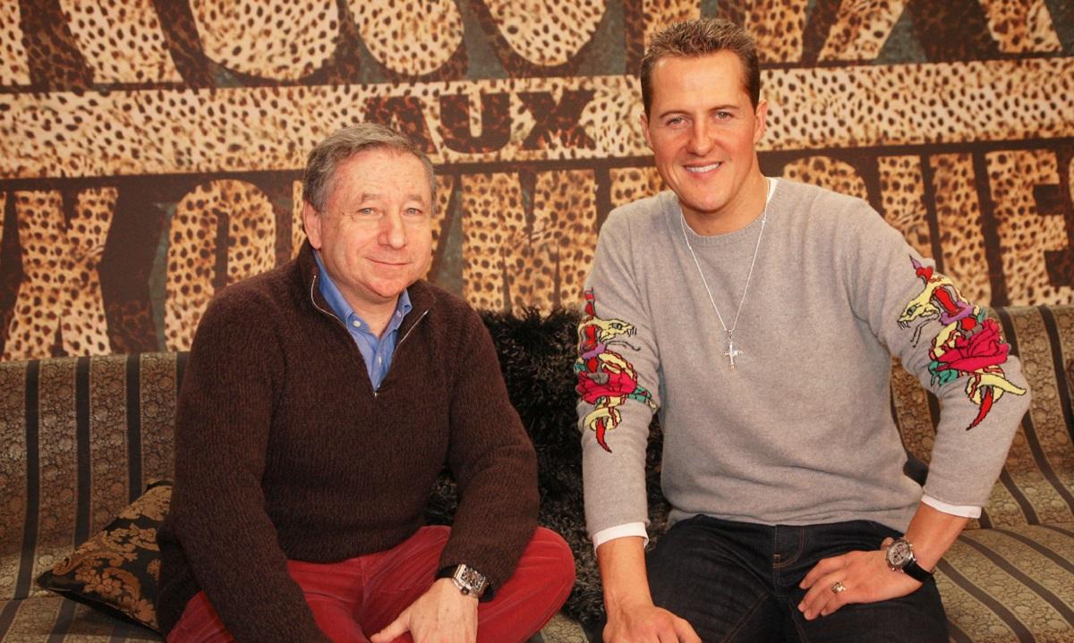 Michael Schumacher şi Jean Todt