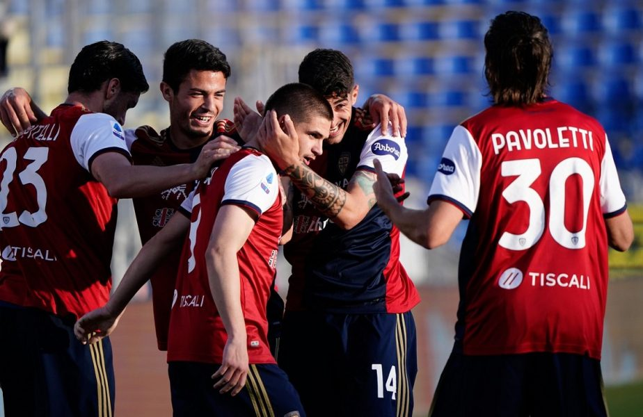 Răzvan Marin impresionează în Serie A! Internaţionalul român, pasă de gol în minutul 1 în Benevento – Cagliari 1-3. VIDEO