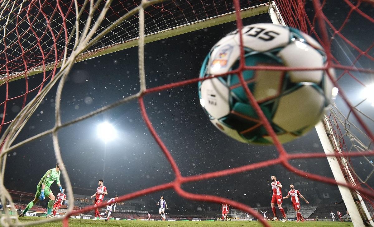 Dinamo a evitat retrogradarea directă
