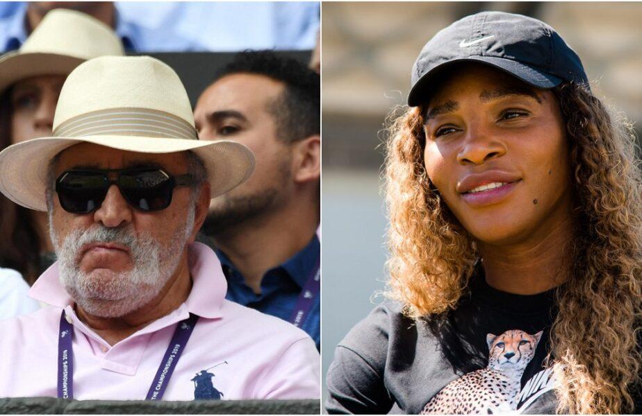 """Serena Williams l-a luat peste picior pe Ion Ţiriac! """"Comentariile făcute de omul acela bătrân, bătrân?"""""""