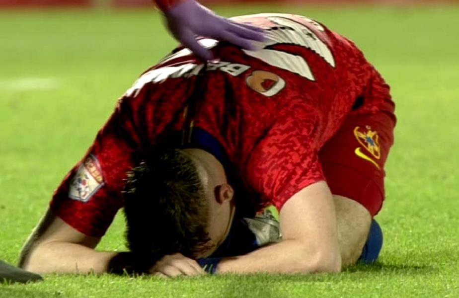 FCSB – Academica Clinceni 2-2 | Darius Olaru a izbucnit în lacrimi! Imagini dramatice la Giurgiu