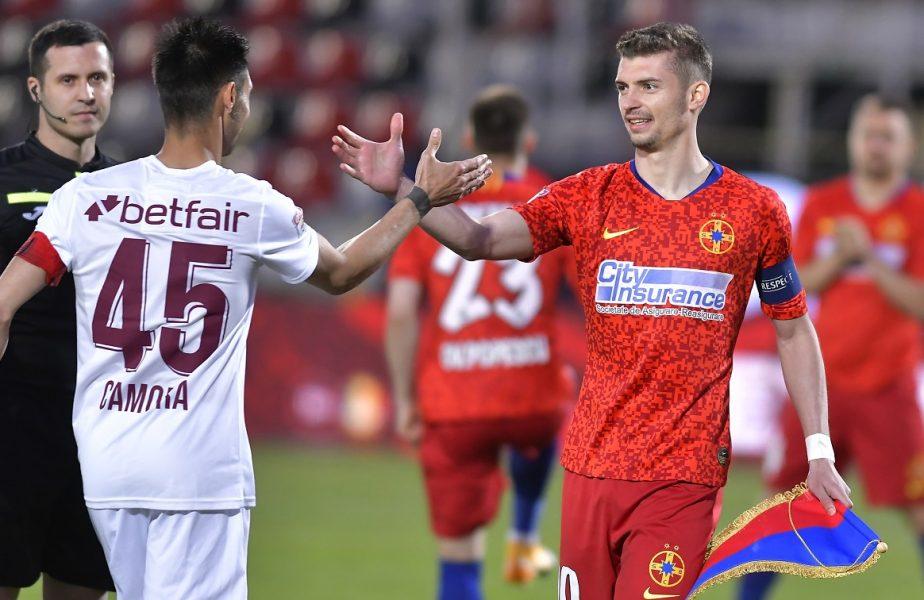 CFR Cluj şi FCSB au gafat în cel mai important moment. Luptă nebună pentru titlul din Liga 1! Clasament, calcule şi meciurile rămase