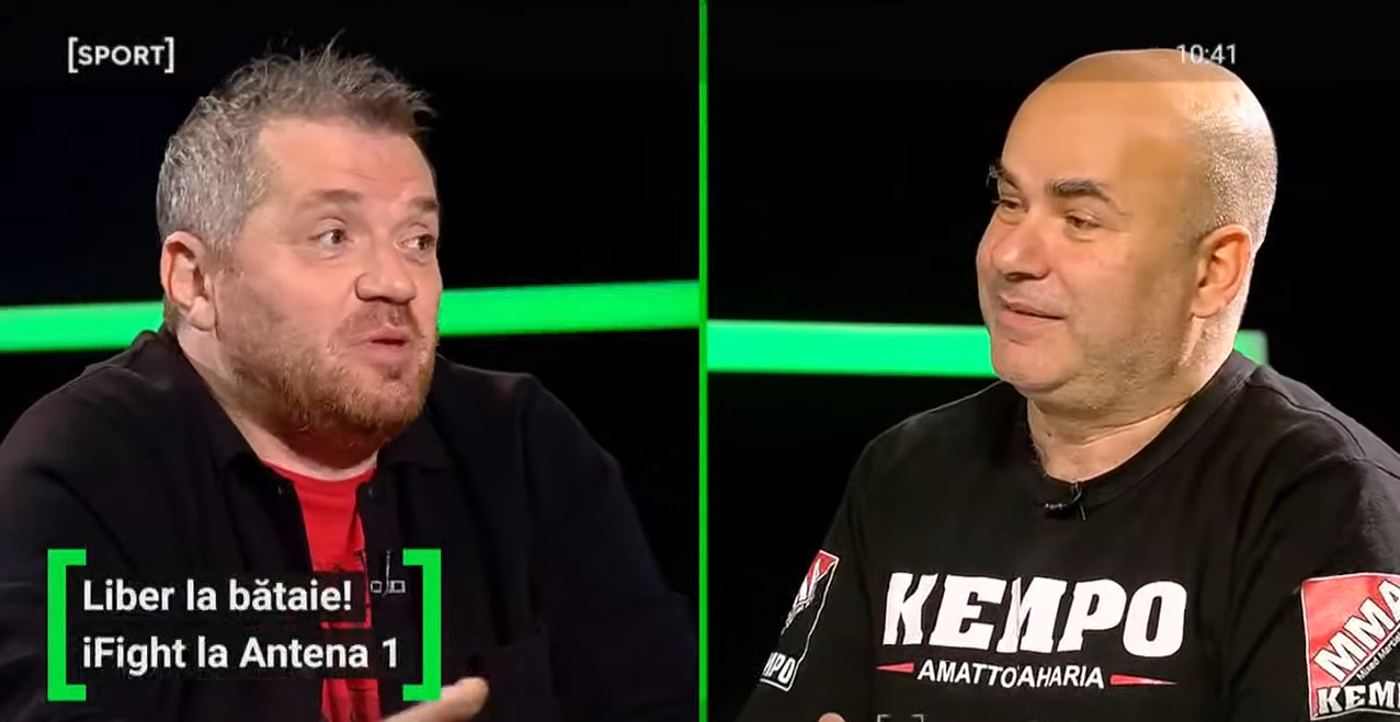 """EXCLUSIV AS.ro LIVE   Amatto Zaharia promite că va fi spectacol la iFight """"Heroes"""", pe Antena 1. """"Este fantastic că se organizează această gală!"""""""