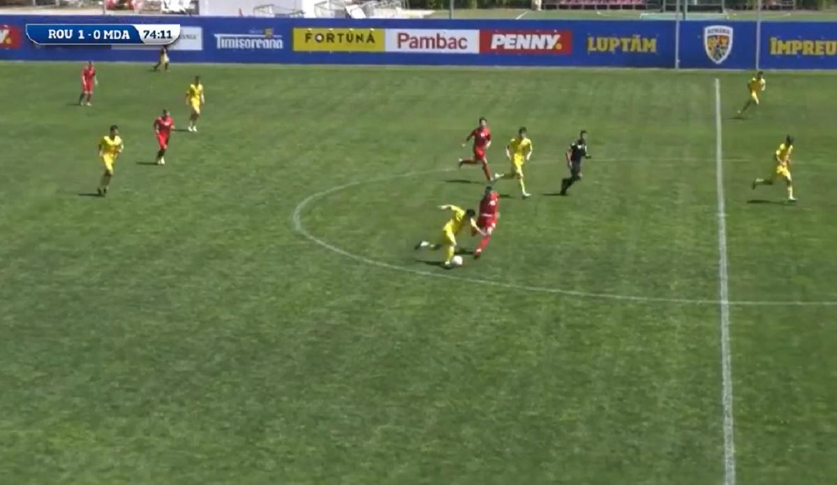 Enes Sali a marcat un gol de poveste