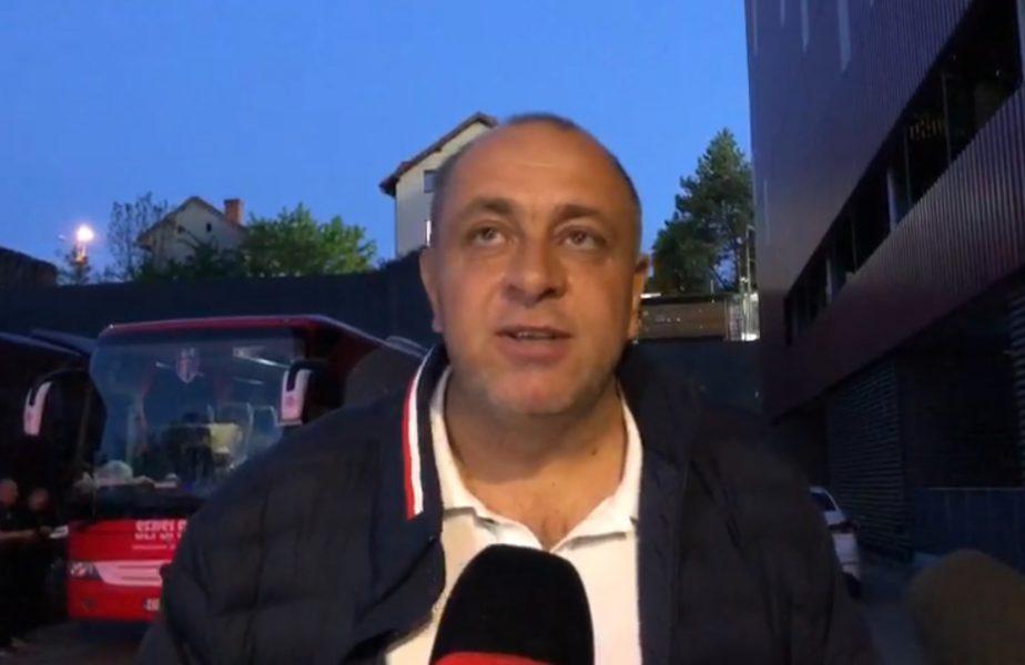 """Laszlo Dioszegy a explicat de ce Rachid Bouhenna a ratat meciul cu CFR Cluj. """"Nu mai există pentru Sepsi!"""""""