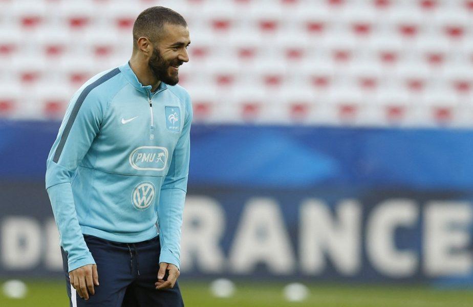 """Karim Benzema vrea să revină la naţionala Franţei, însă Didier Deschamps îi spune """"pas"""". Selecţionerul s-a amuzat teribil: """"Nu sunt Moş Crăciun"""""""