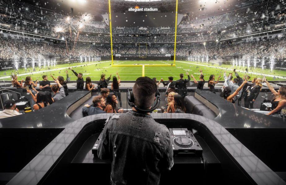 O, ce veste minunată! Las Vegas Raiders va avea club de noapte de 3.000 mp, deschis în stadion, în zi de meci!