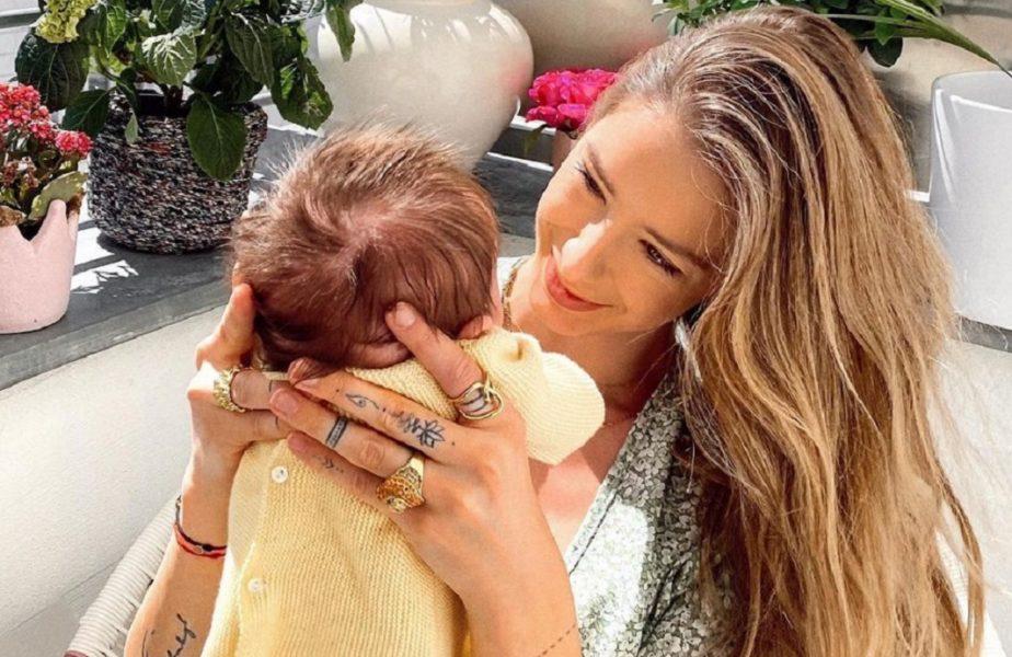 Brenda Patea, modelul cu origi româneşti, nu vrea să audă de Alex Zverev, tatăl copilului nou născut