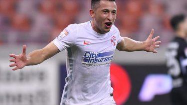 """FCSB – Universitatea Craiova 1-0. Olimpiu Moruţan, execuţie superbă! L-a învins pe Pigliacelli cu o """"torpilă"""" de la 30 de metri"""