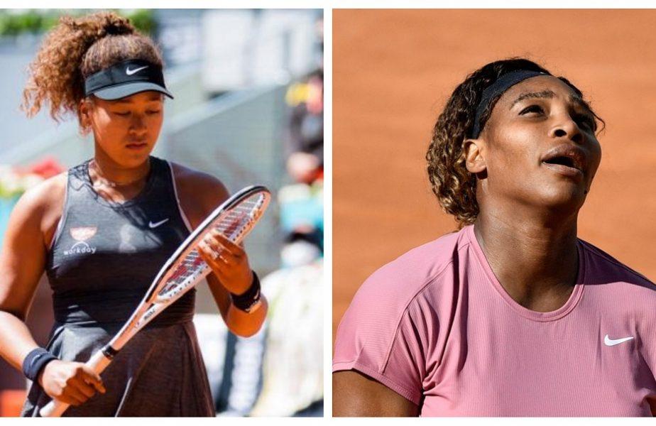 Surprize uriașe la Roma! Naomi Osaka și Serena Williams, OUT în turul al doilea! Umilință pentru americancă la meciul 1000 în carieră