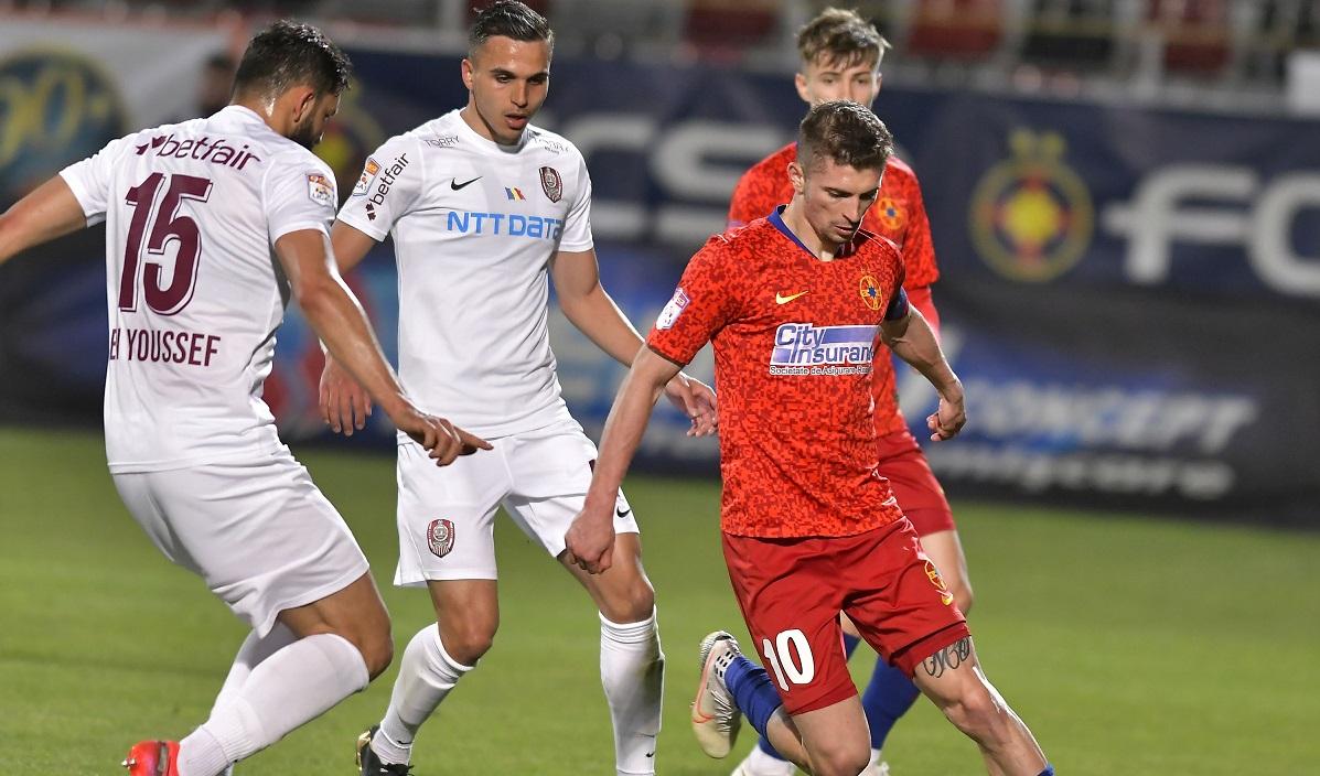 FCSB, mai mulți jucători decât CFR Cluj în echipa sezonului din Liga 1. Singurul dinamovist care a prins lista + gafa făcută de LPF