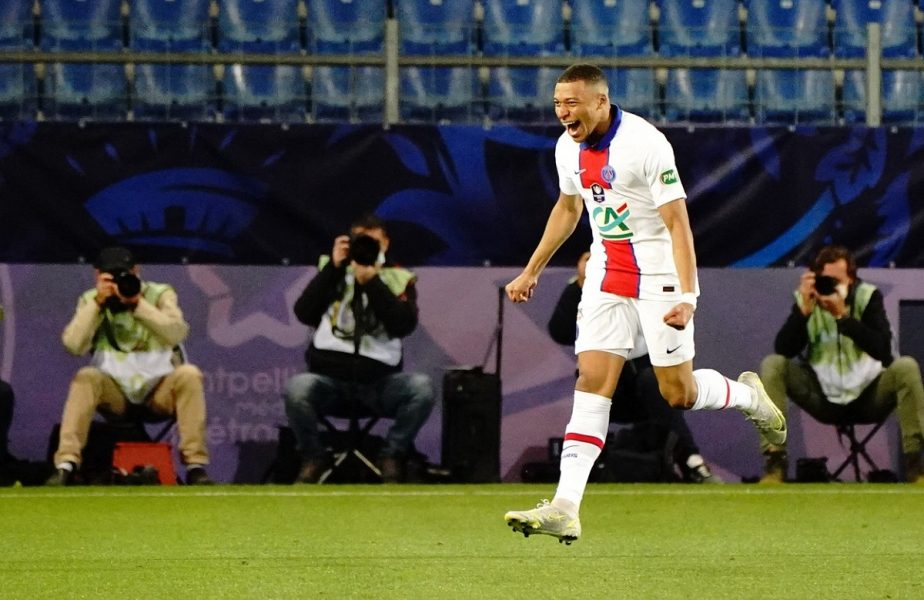 """Kylian Mbappe, """"dublă"""" de senzaţie în Cupa Franţei! """"Parcă a fost Ronaldo Nazario reîncarnat"""". PSG s-a calificat în finală la loviturile de departajare"""