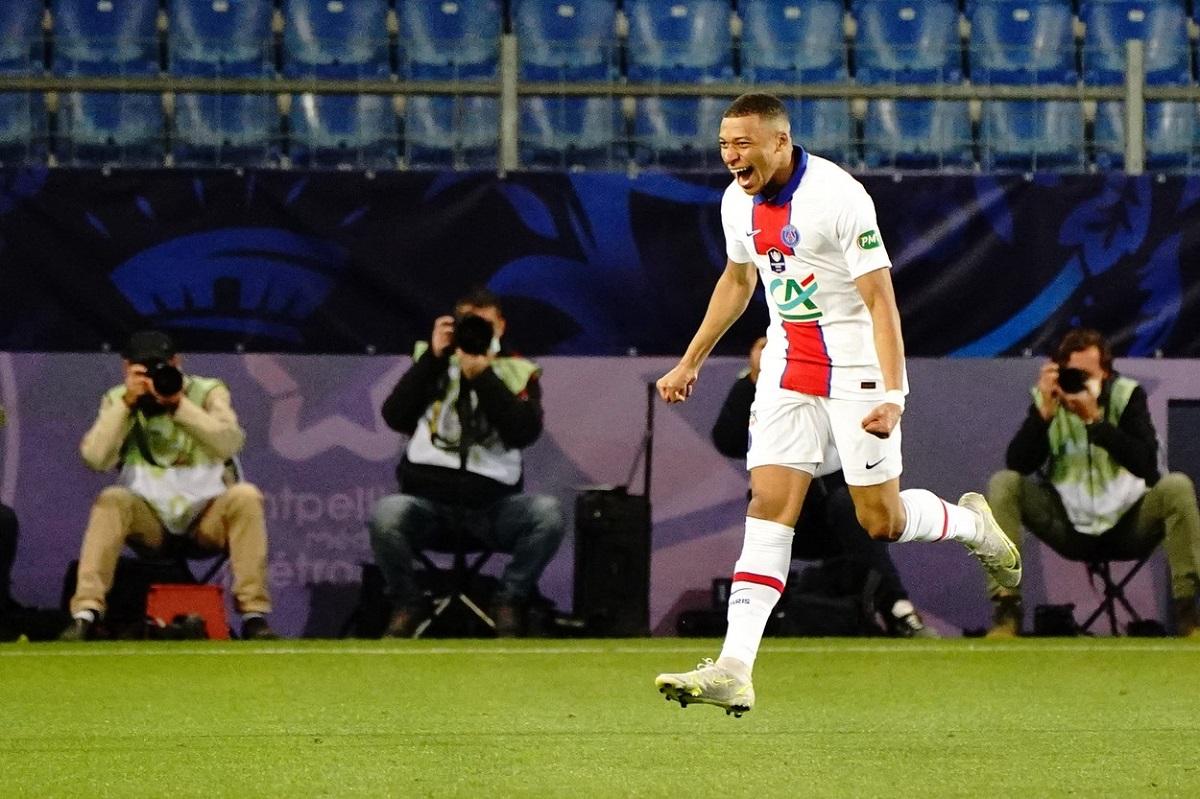 Kylian Mbappe, Montpellier - PSG, Cupa Franţei