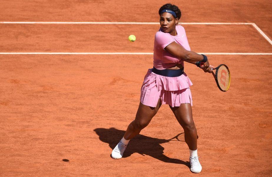 Decizia surprinzătoare luată de Serena Williams, după ce a fost eliminată de la Roma! Unde va juca meciul 1.001 în circuitul WTA
