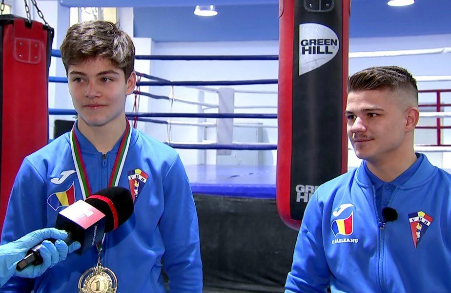 Doi fraţi din ring vor să aducă următoarele medalii pentru România