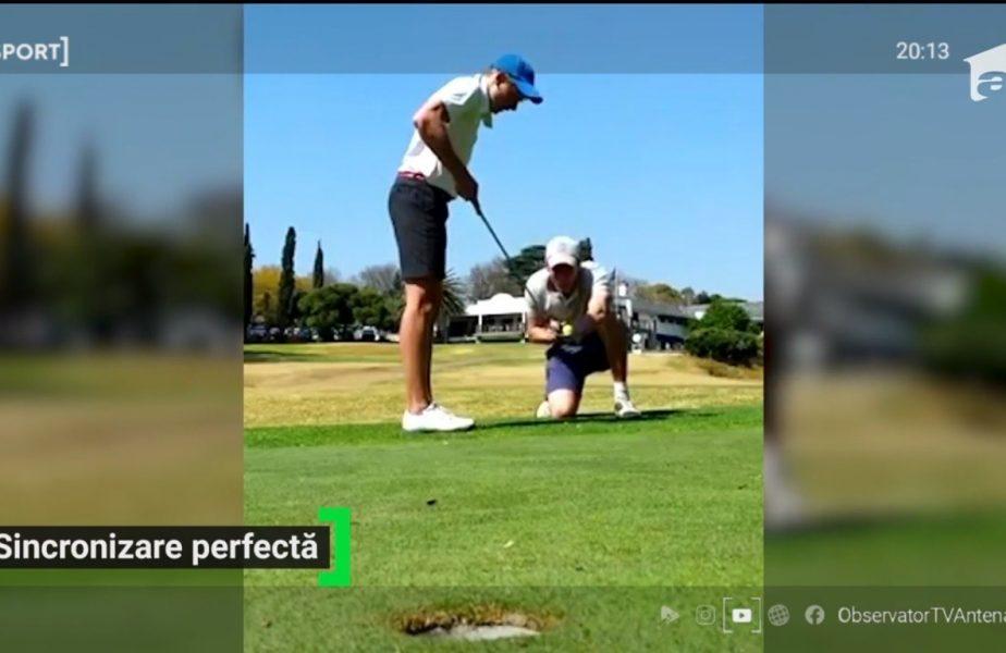 Jucatorii de golf s-au apucat de trucuri