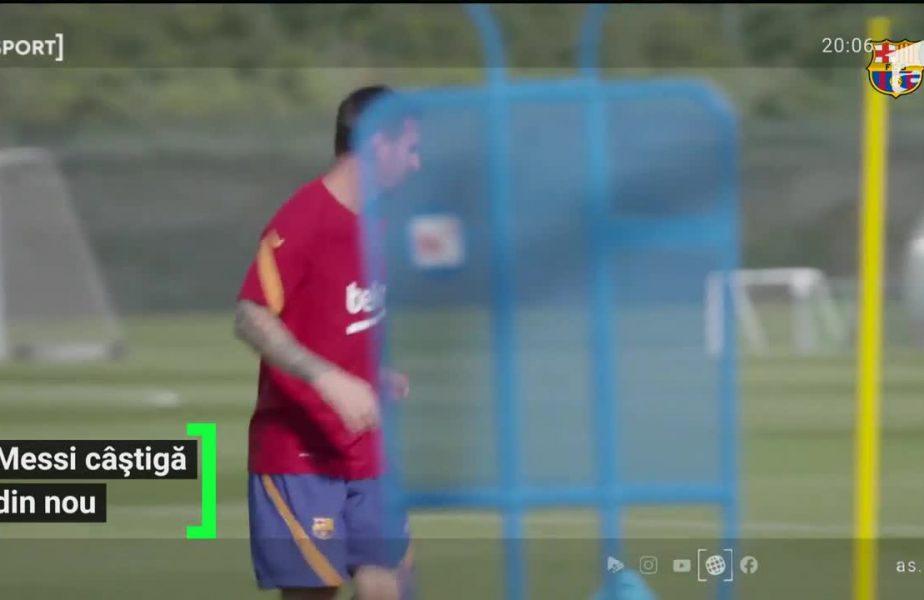 Răsturnare de situaţie! Messi e tot mai aproape să-şi prelungească contractul cu Barca!