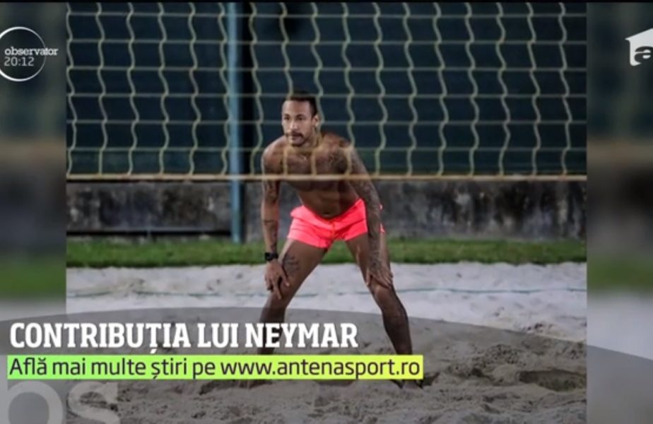 Neymar nu e afectat de criză și a donat cinci milioane de dolari