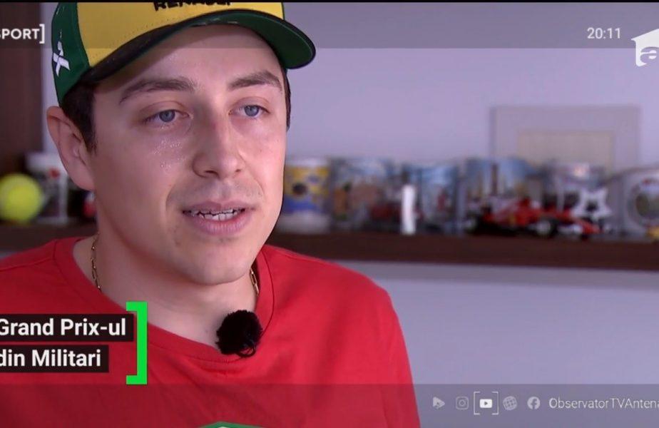 """Un inginer român e pasionat de Formula 1 și visează să lucreze la o echipă: """"Dacă au o ofertă, semnez pe loc!"""""""